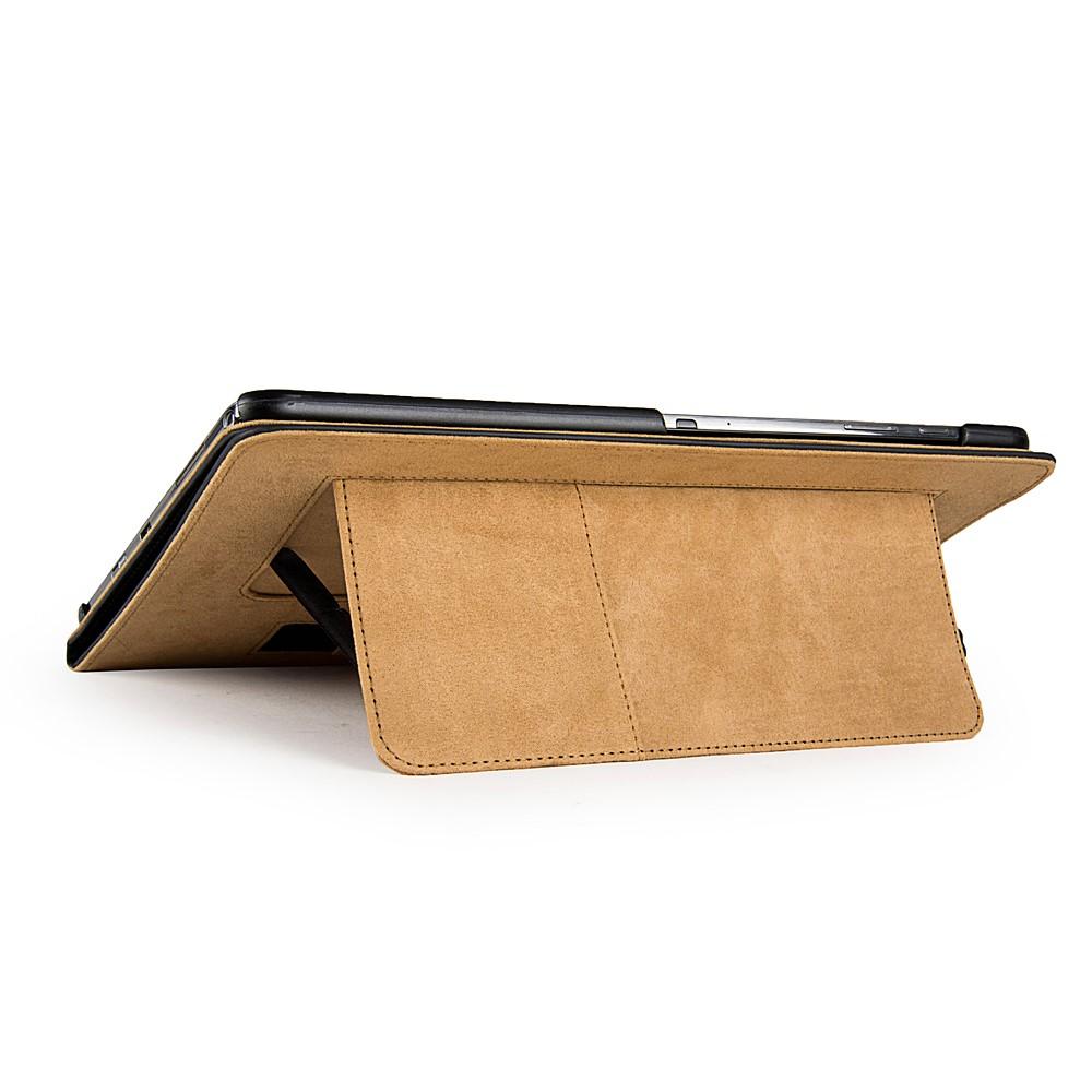 Mary Portfolio Case for Samsung® Galaxy Tab 4 10.1 with Sleep Mode (Black)
