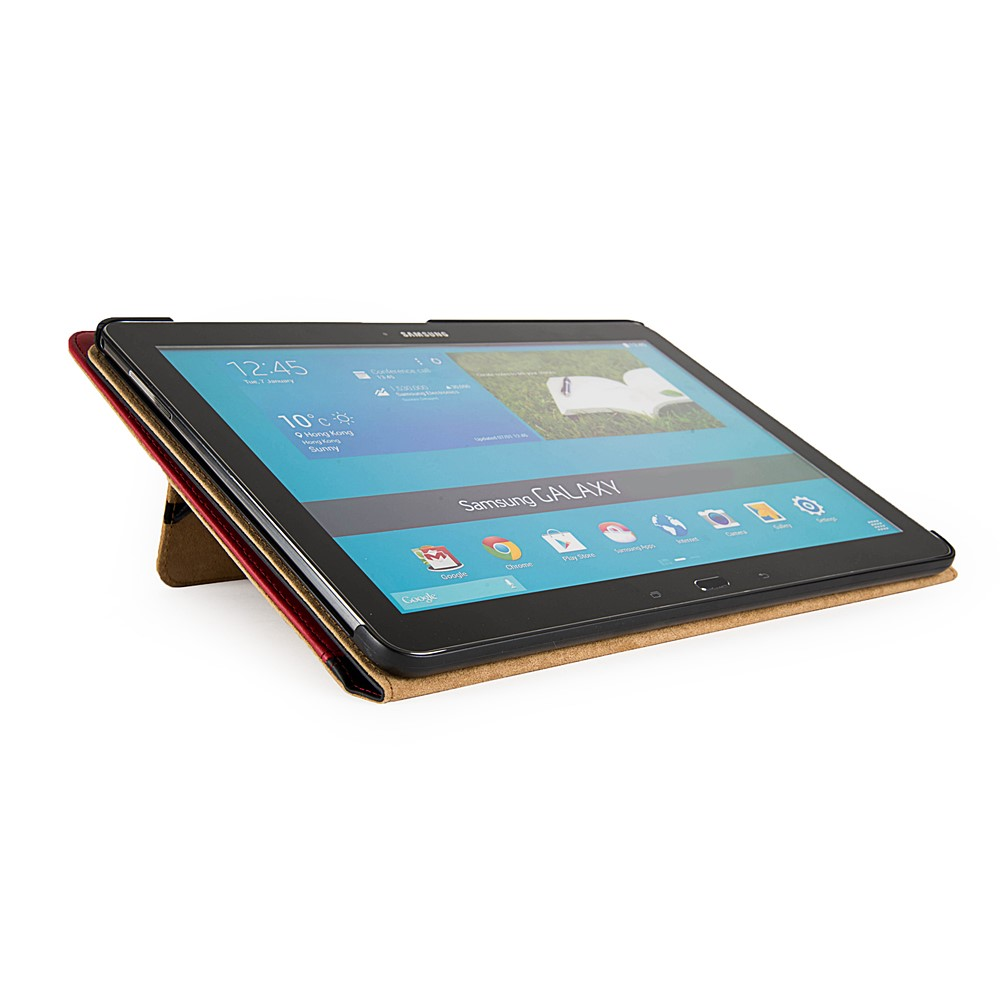 Mary Self Stand Case for Samsung® Galaxy Tab Pro 10.1 (Black/Red)