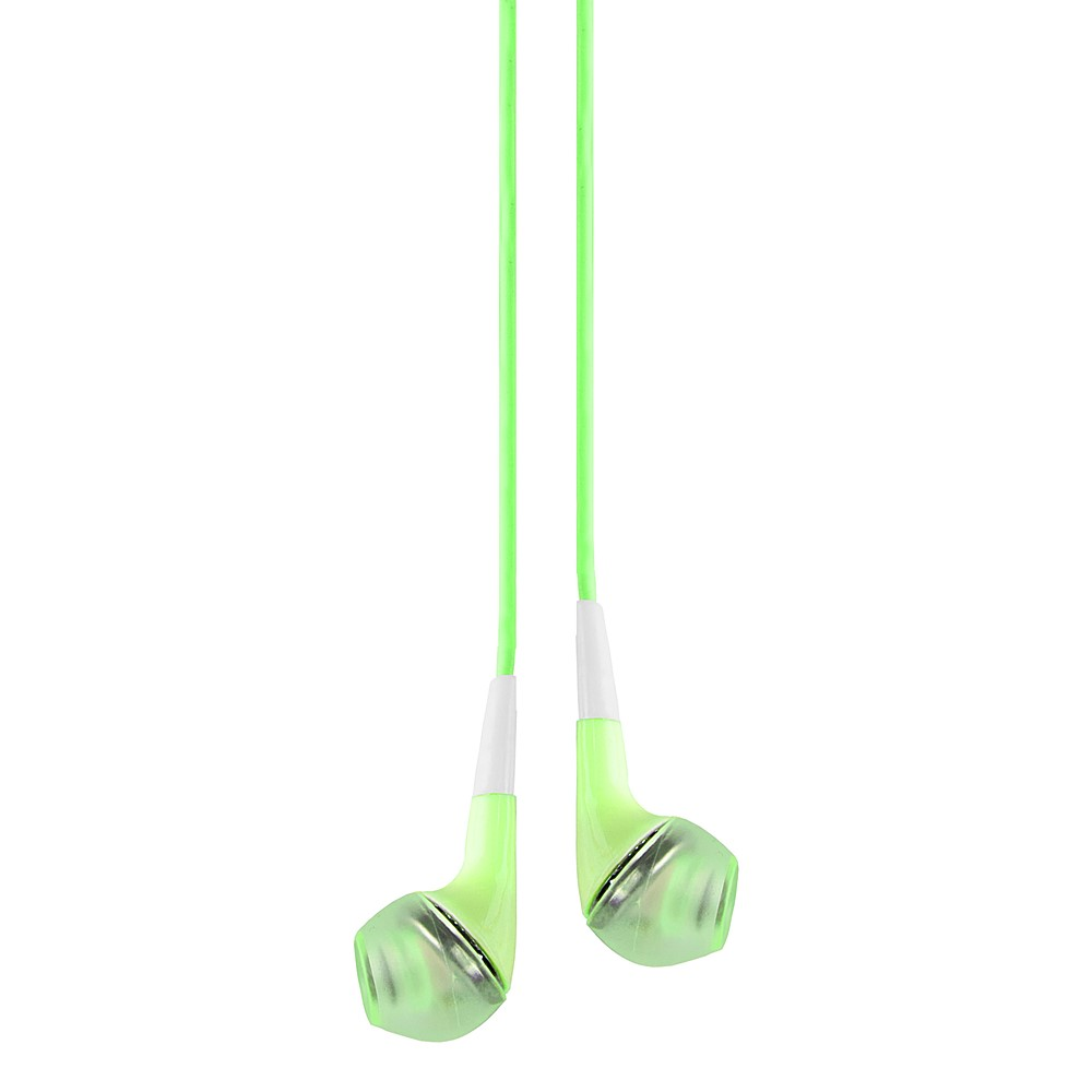 Deluxe Stereo Hands-free Headset 3.5mm, with MIC, Green