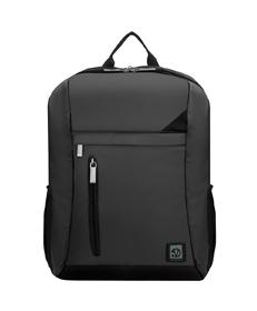"Adler Laptop Backpack 15.6"" (Metallic Grey with Black Trim)"
