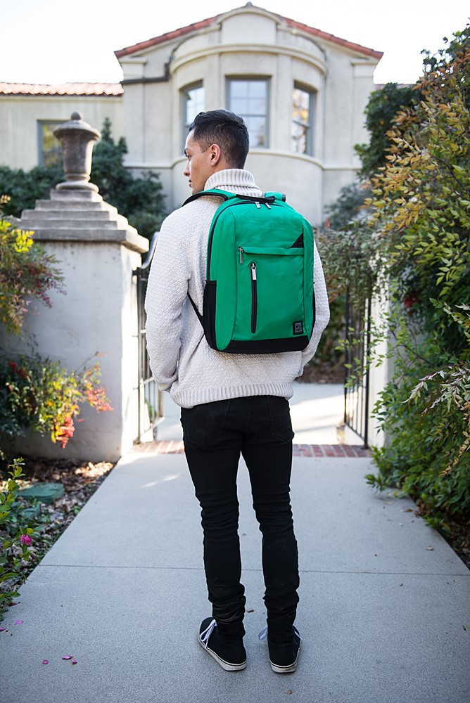 "Adler Laptop Backpack 15.6"" (Jade)"