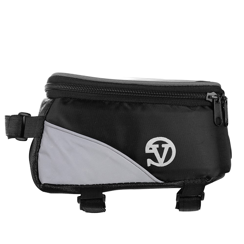 Reflective Bicycle Frame Bag