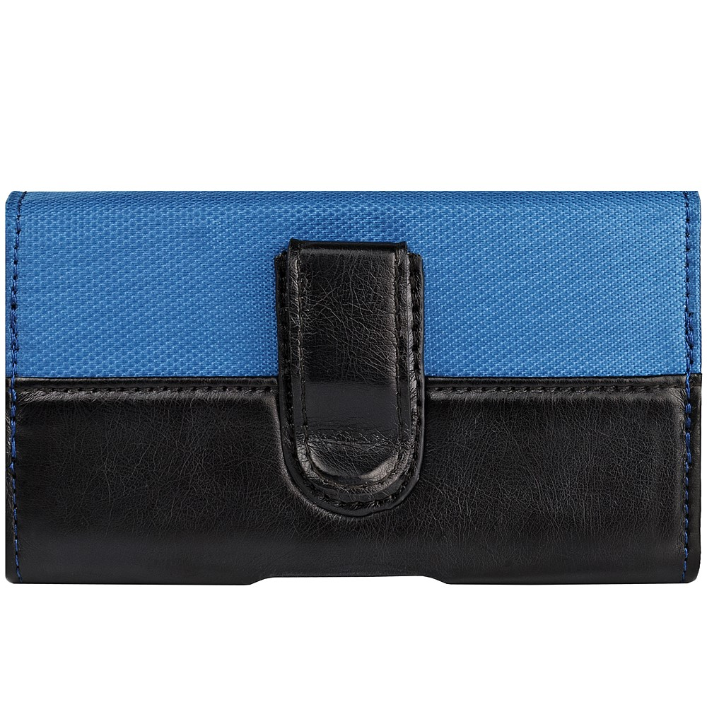 Portola Carrying Holster w/Belt Clip and Stylus Holder (Blue/Black)