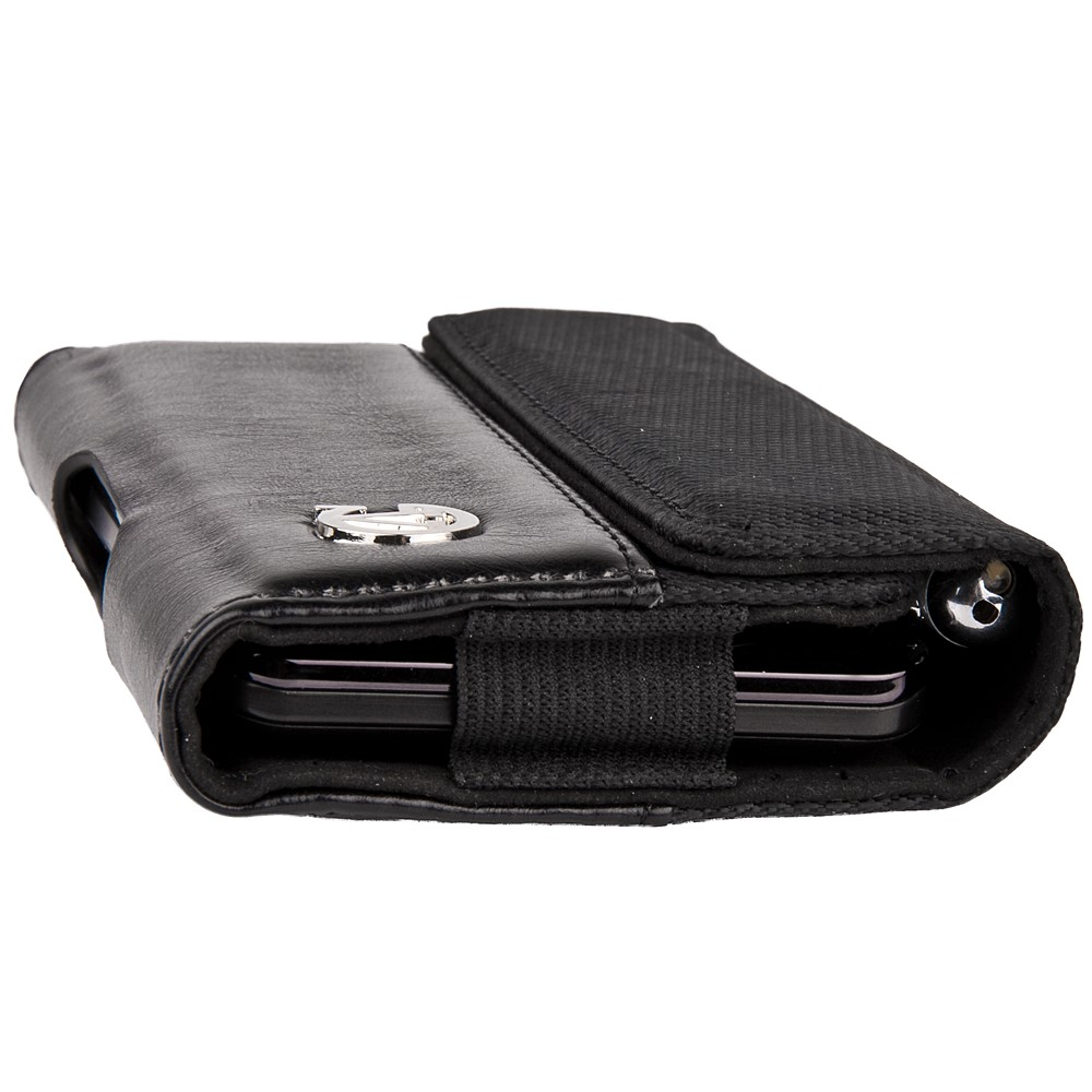 Portola Carrying Holster w/Belt Clip and Stylus Holder (Black)