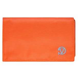 Poly Wallet Case (Orange/Grey)