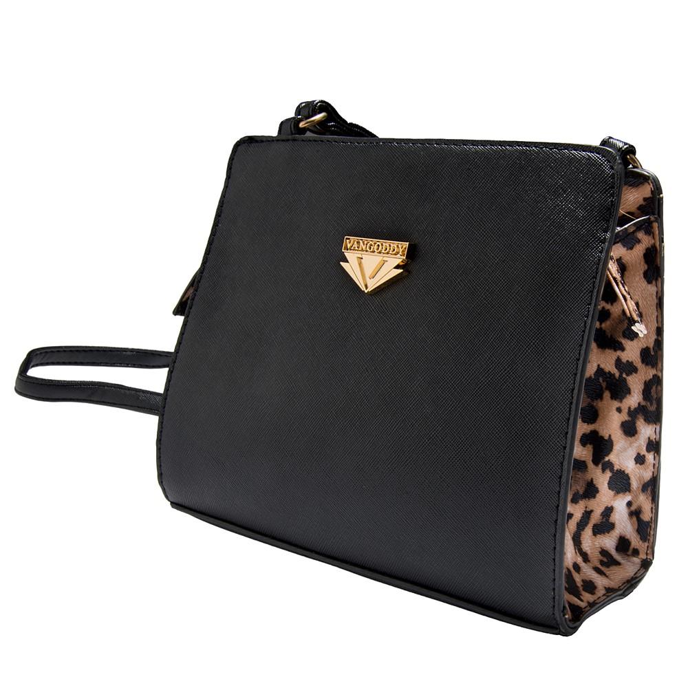 Arina Leopard Crossbody Bag