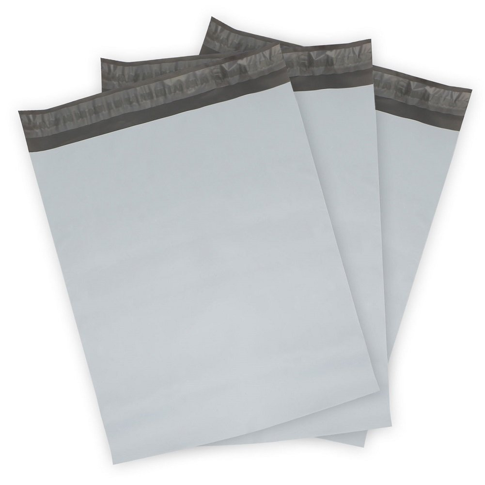 (1000 PC) 7.5 X 10.5 White Self Seal Envelope Poly Mailer