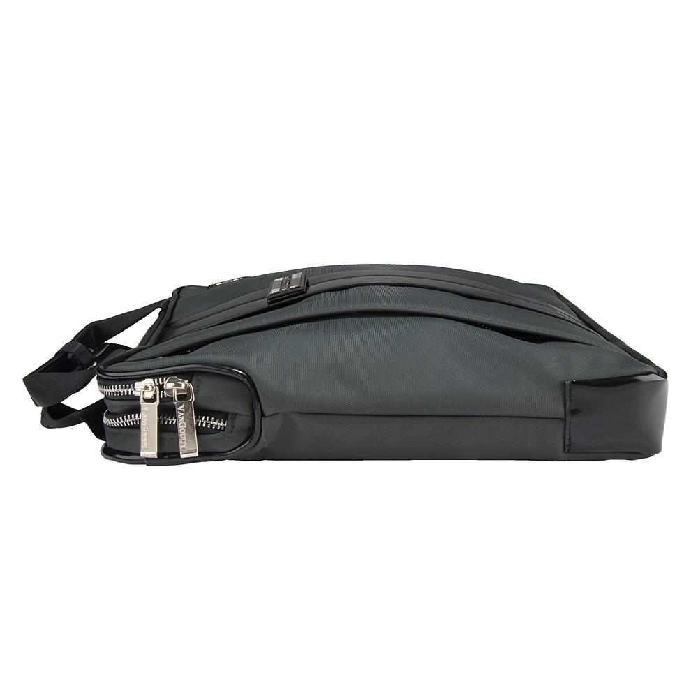 """Melissa Shoulder Bag 11"""" (Grey/Black)"""