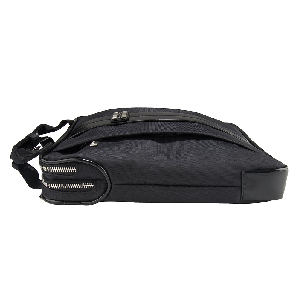 """Melissa Shoulder Bag 11"""" (Black/Black)"""