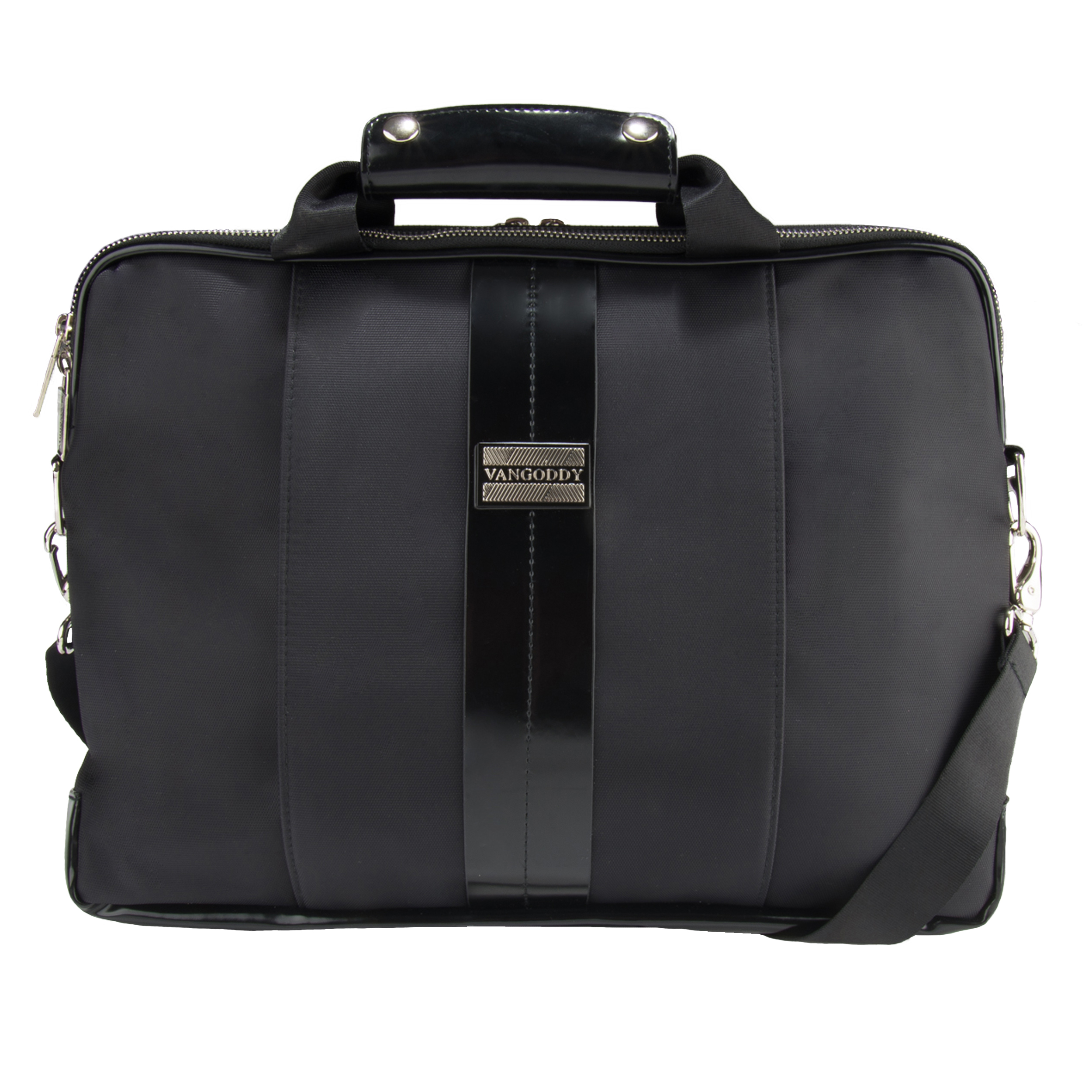 "Melissa Shoulder Bag 15"" (Black/Black)"