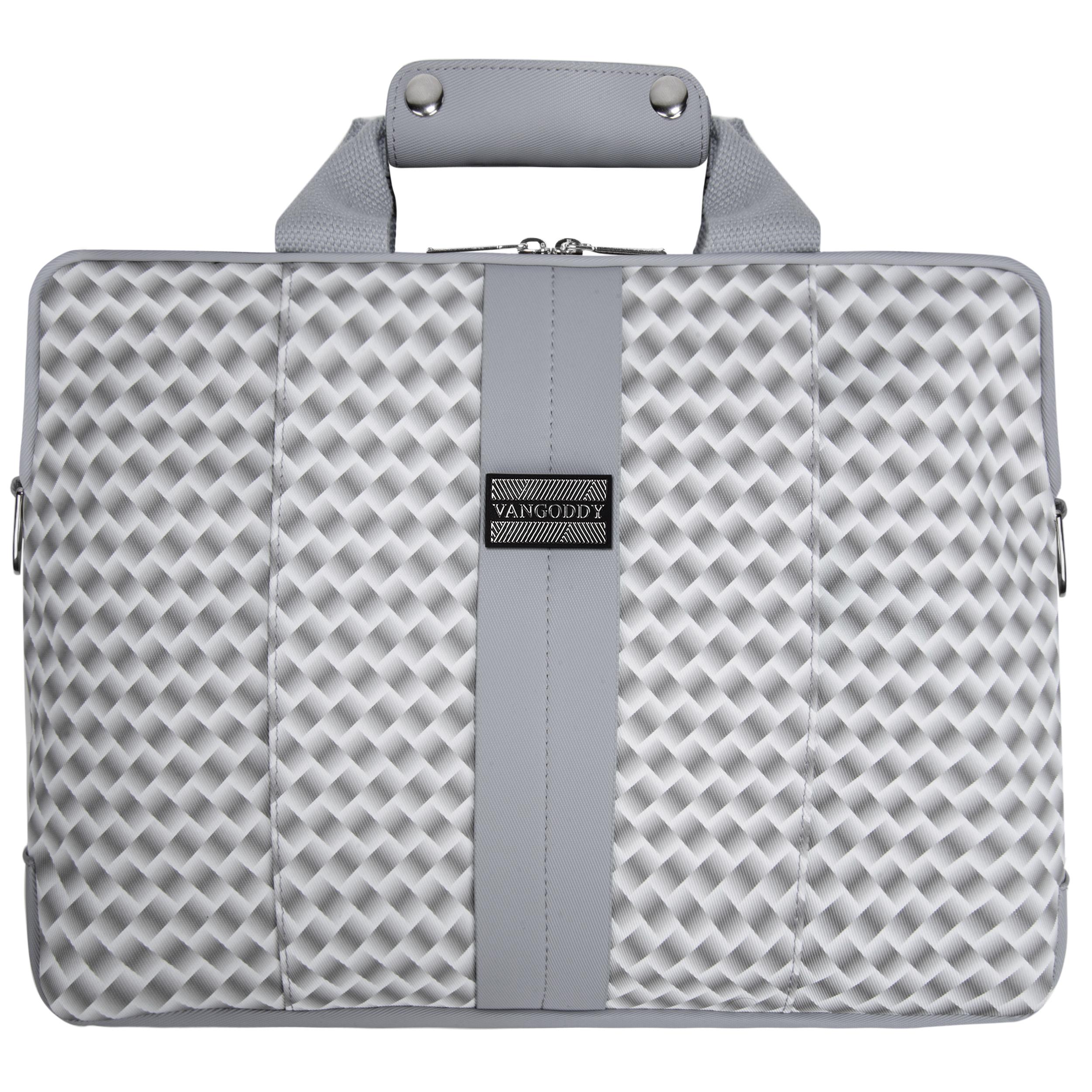 """Melissa Shoulder Bag 15"""" (White/Grey)"""