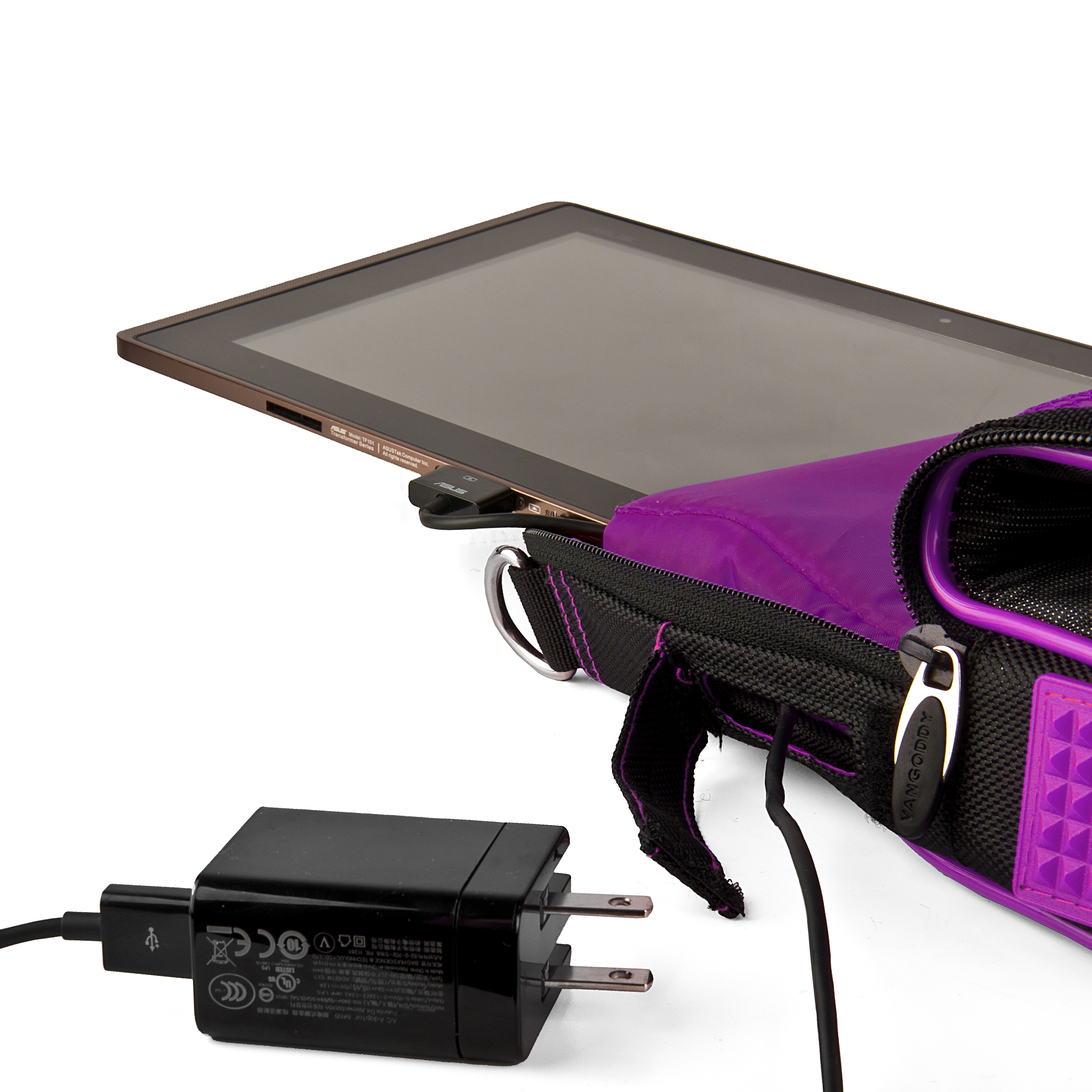 (Black/Purple) Pindar Shoulder Case 11""