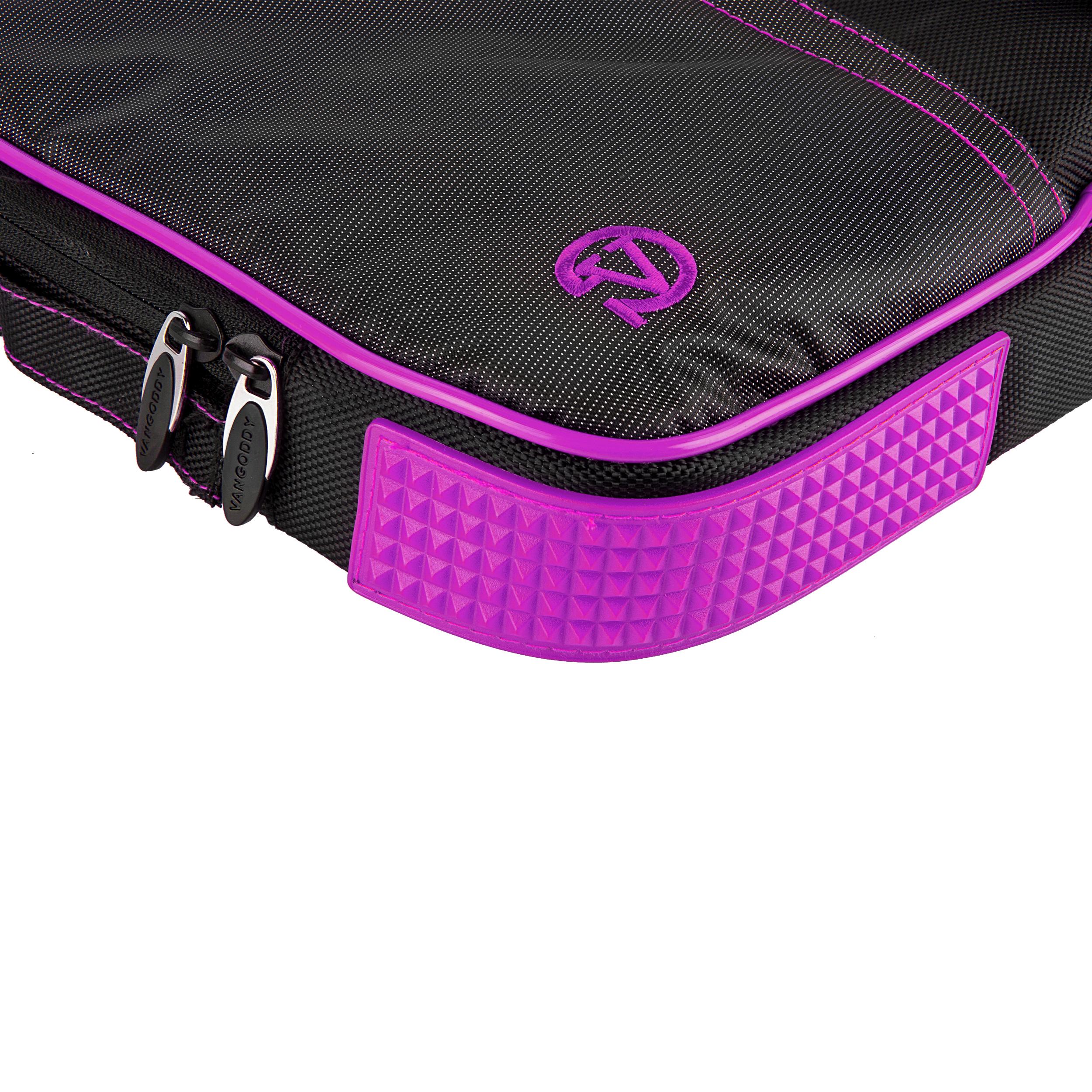 """(Black/Purple) Pindar Shoulder Case 12-13"""""""