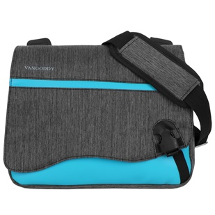 "Wave Messenger Bag 10.2"" (Sky Blue)"