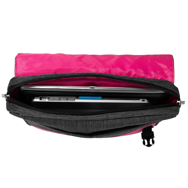 """Wave Messenger Bag 10.2"""" (Magenta)"""