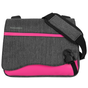 "Wave Messenger Bag 10.2"" (Magenta)"
