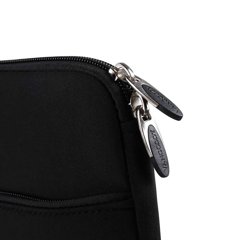 (Black) Neoprene 12 Laptop Carrying Sleeve
