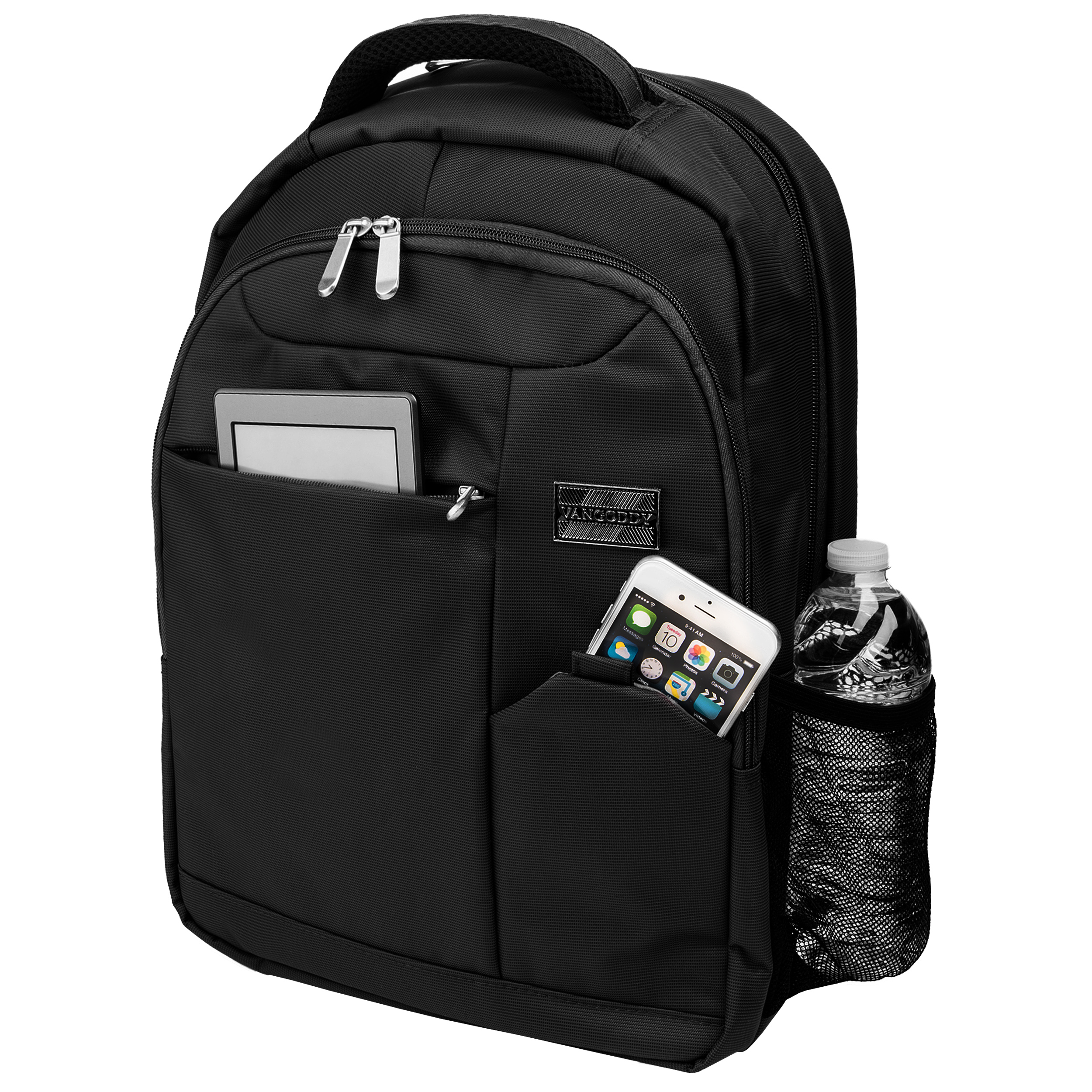 """Germini Laptop Backpack 15"""" (Black)"""