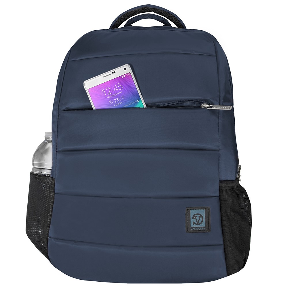 "Bonni Laptop Backpack 15.6"" (Navy Blue)"