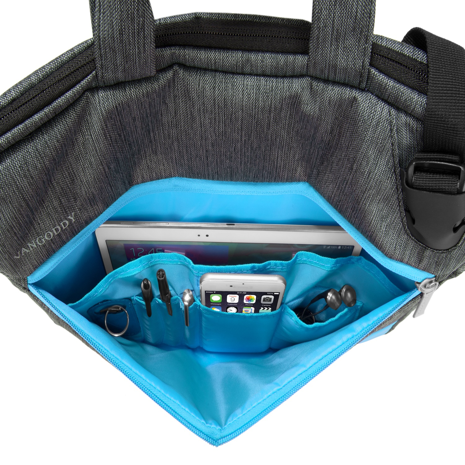 "Wave Laptop Bag 15.6"" (Sky Blue)"