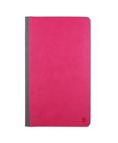 Mary Self Stand Case for Samsung® Galaxy Tab Pro 10.1 (Pink/Gray)