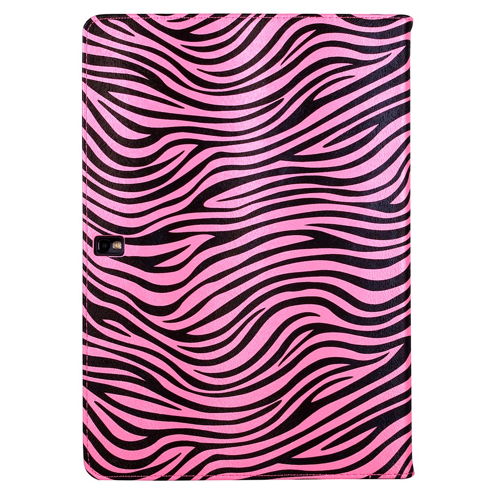 Mary Self Stand Case for Samsung® Galaxy Note Pro 12.2 (Pink/Black Zebra)