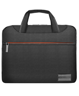 "NineO Messenger Bag 10"" (Gray/Orange)"