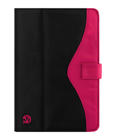 Soho Tablet Case (Black/Pink)