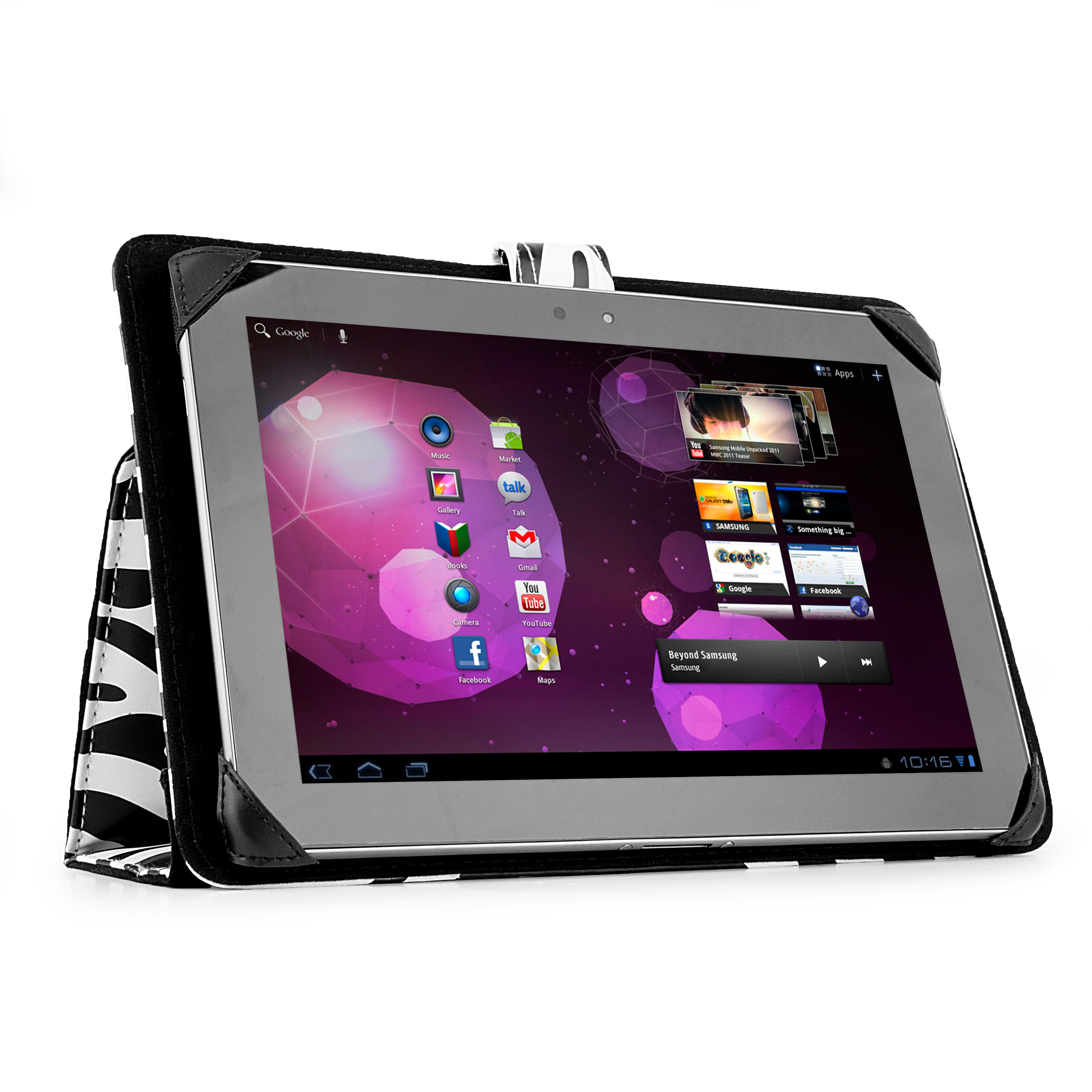 Soho Tablet Case (Black/White Zebra)