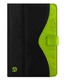 Soho Tablet Case (Black/Apple Green)