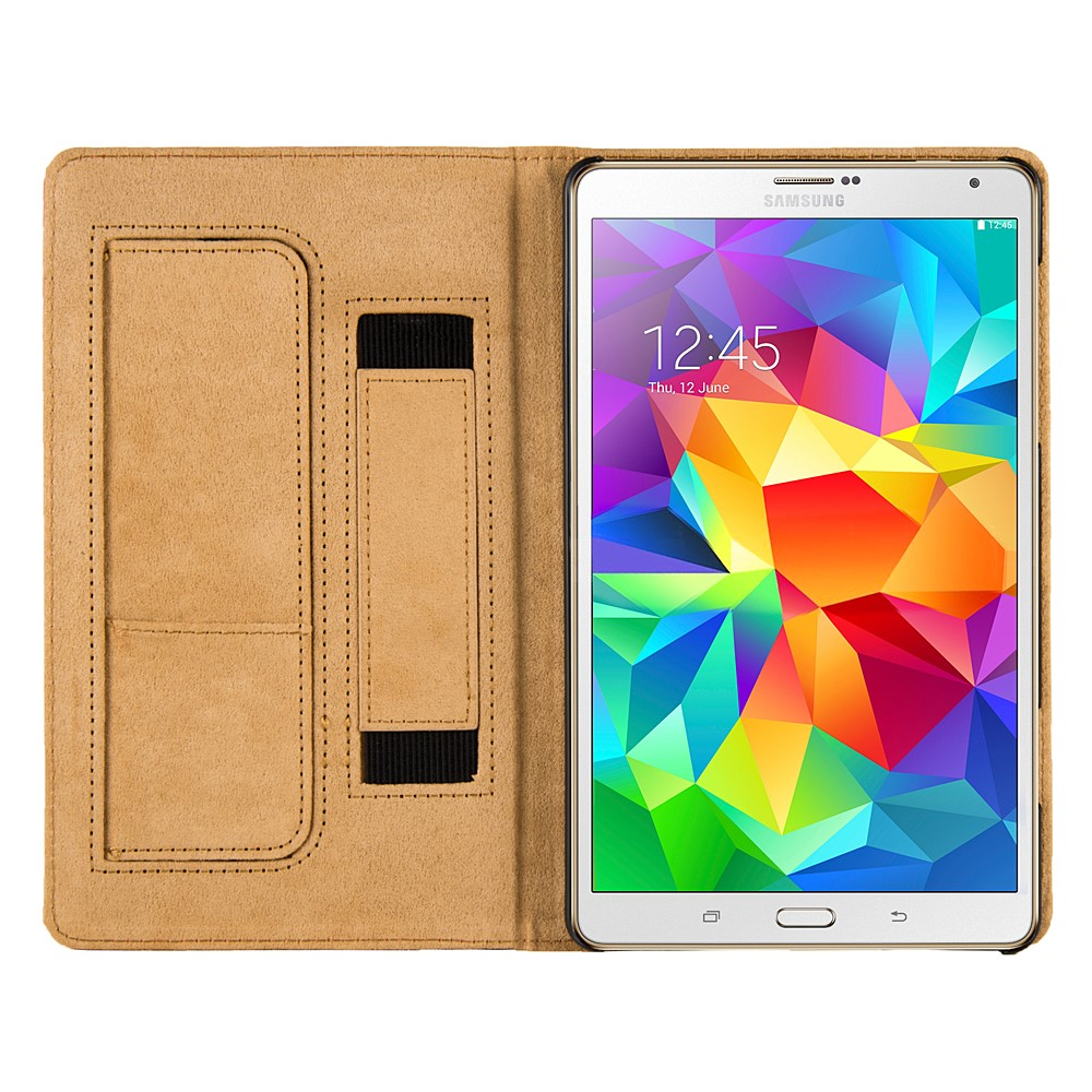 Mary Portfolio Case for Samsung® Galaxy Tab S 8.4 (Black)