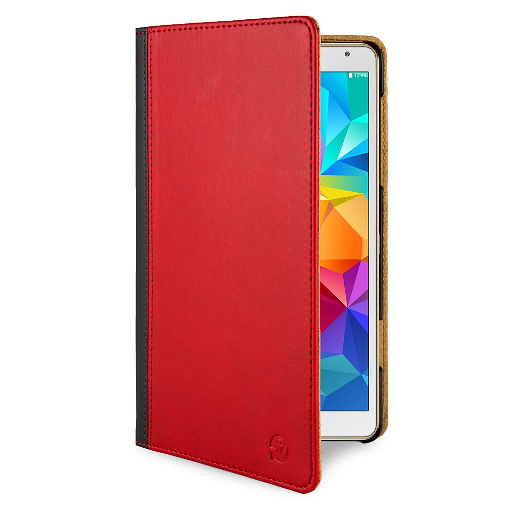 Mary Portfolio Case for Samsung® Galaxy Tab S 8.4 (Red/Black)