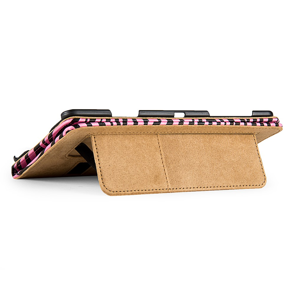Mary Portfolio Case for Samsung® Galaxy Tab S 8.4 (Pink/Black Zebra)
