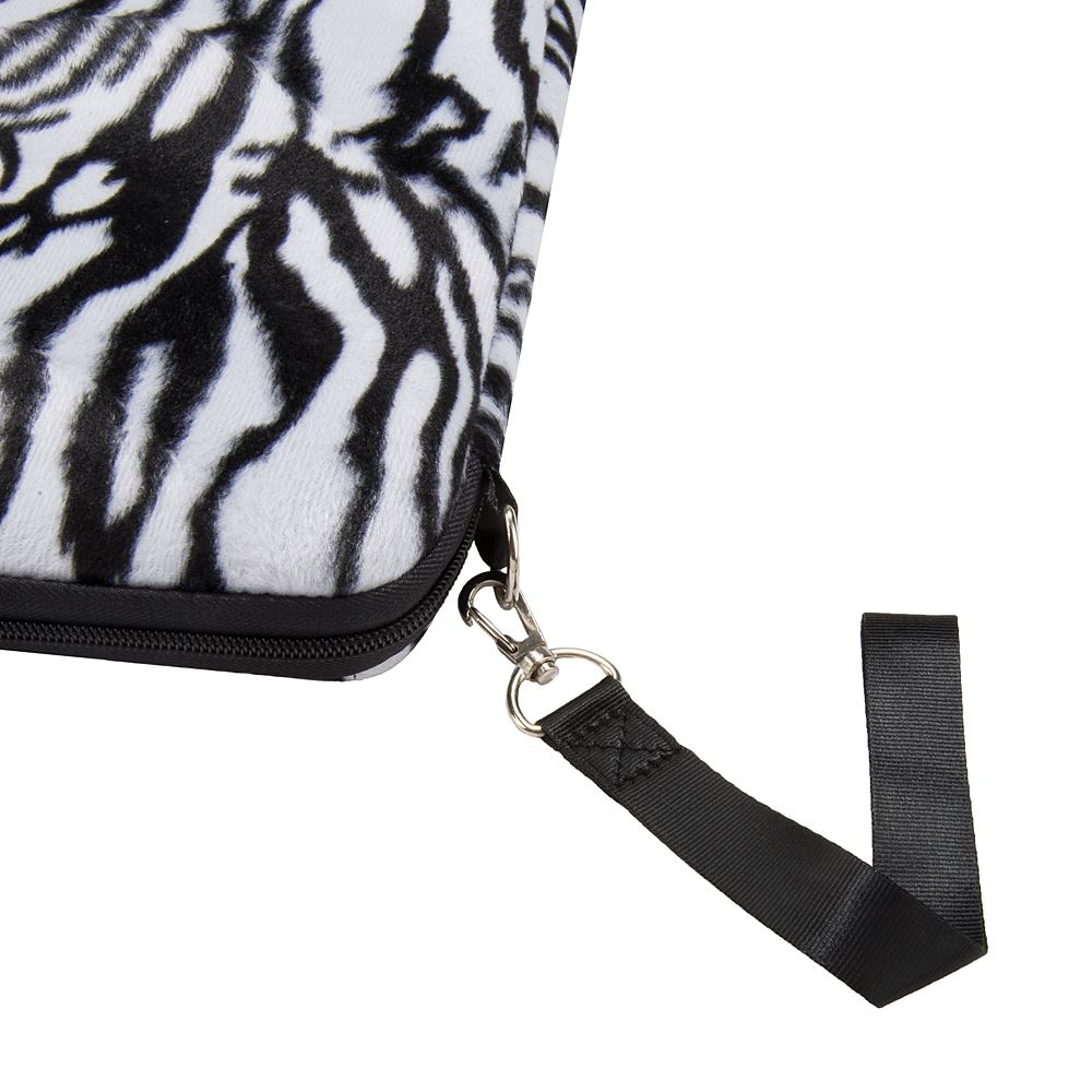 "13"" Neoprene Sleeve (Zebra)"