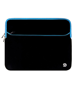 "Neoprene Sleeve 15"" (Black/Blue Trim)"