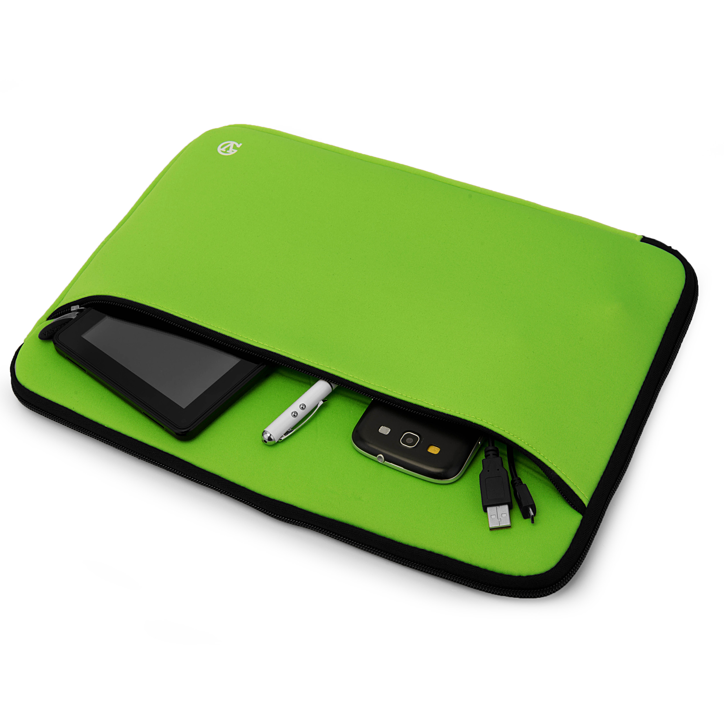 "Neoprene Sleeve 14"" (Green)"