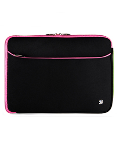 "Neoprene Sleeve 14"" (Black/Pink Trim)"