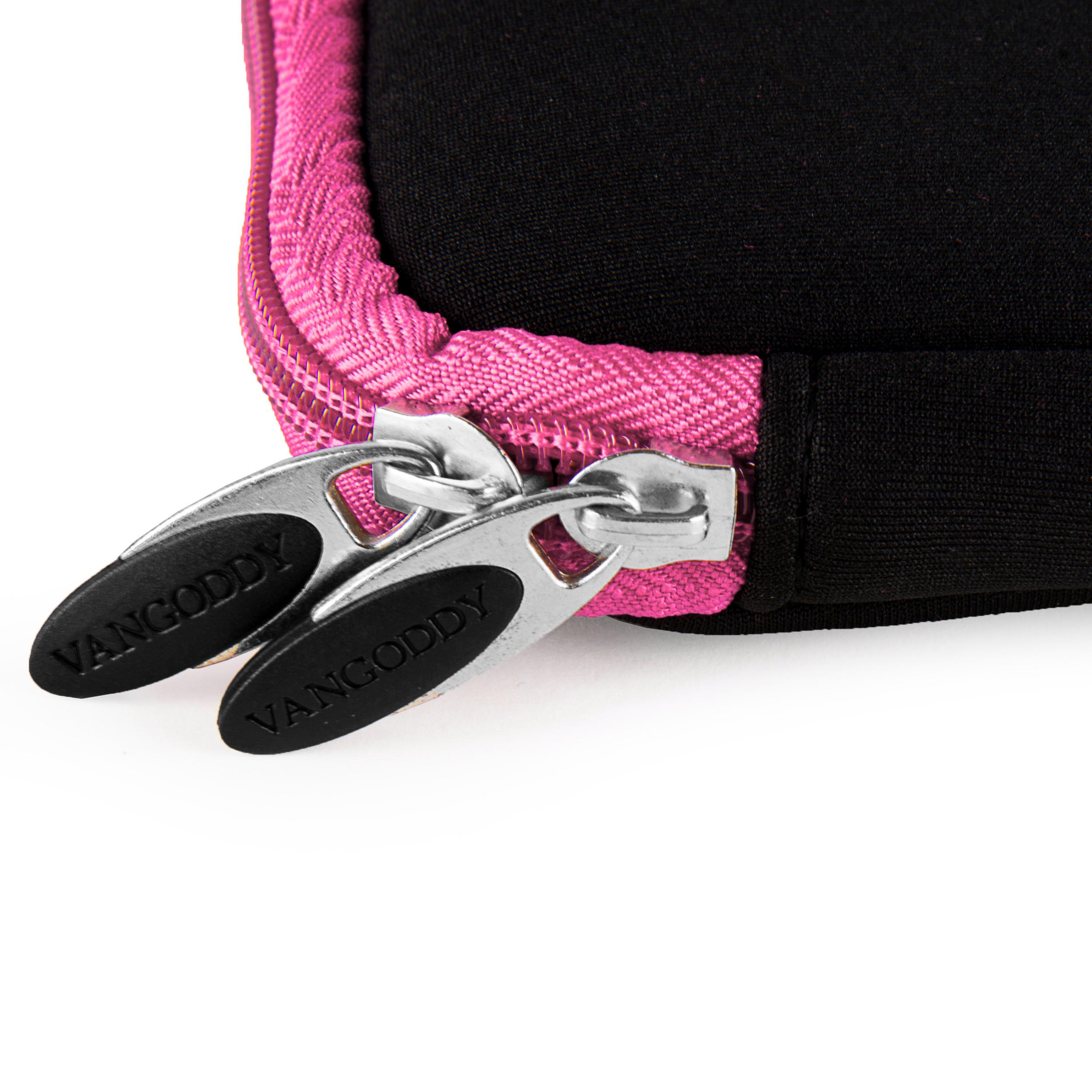 "Neoprene Sleeve 14"" (Black/Pink Trim)"
