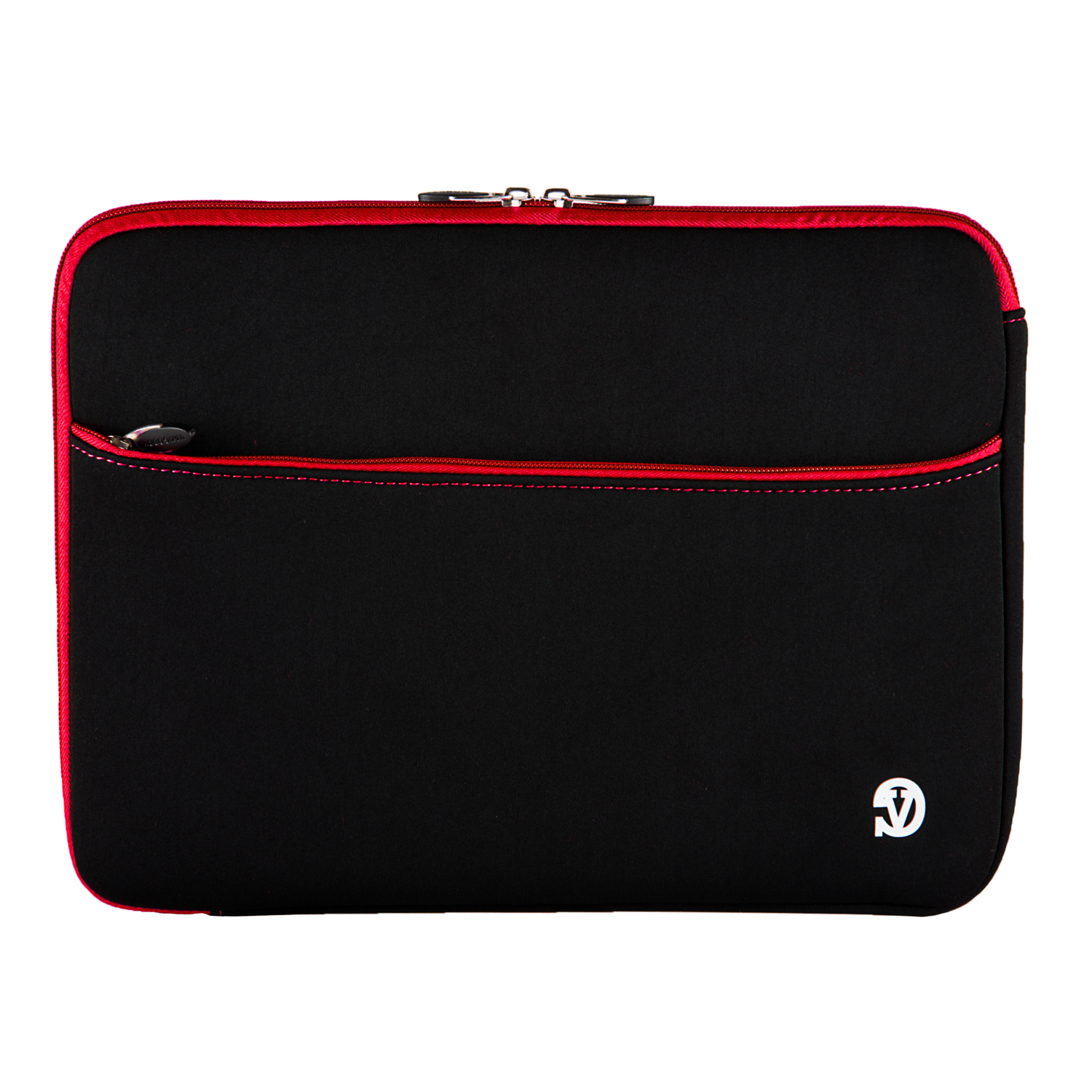 "Neoprene Sleeve 15""  (Black/Red Trim)"