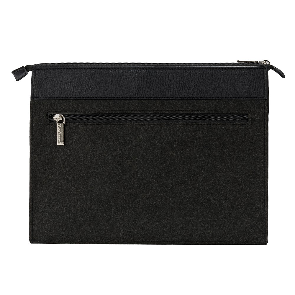 Exo Woolen Felt Laptop Sleeve w/Black Trim 13