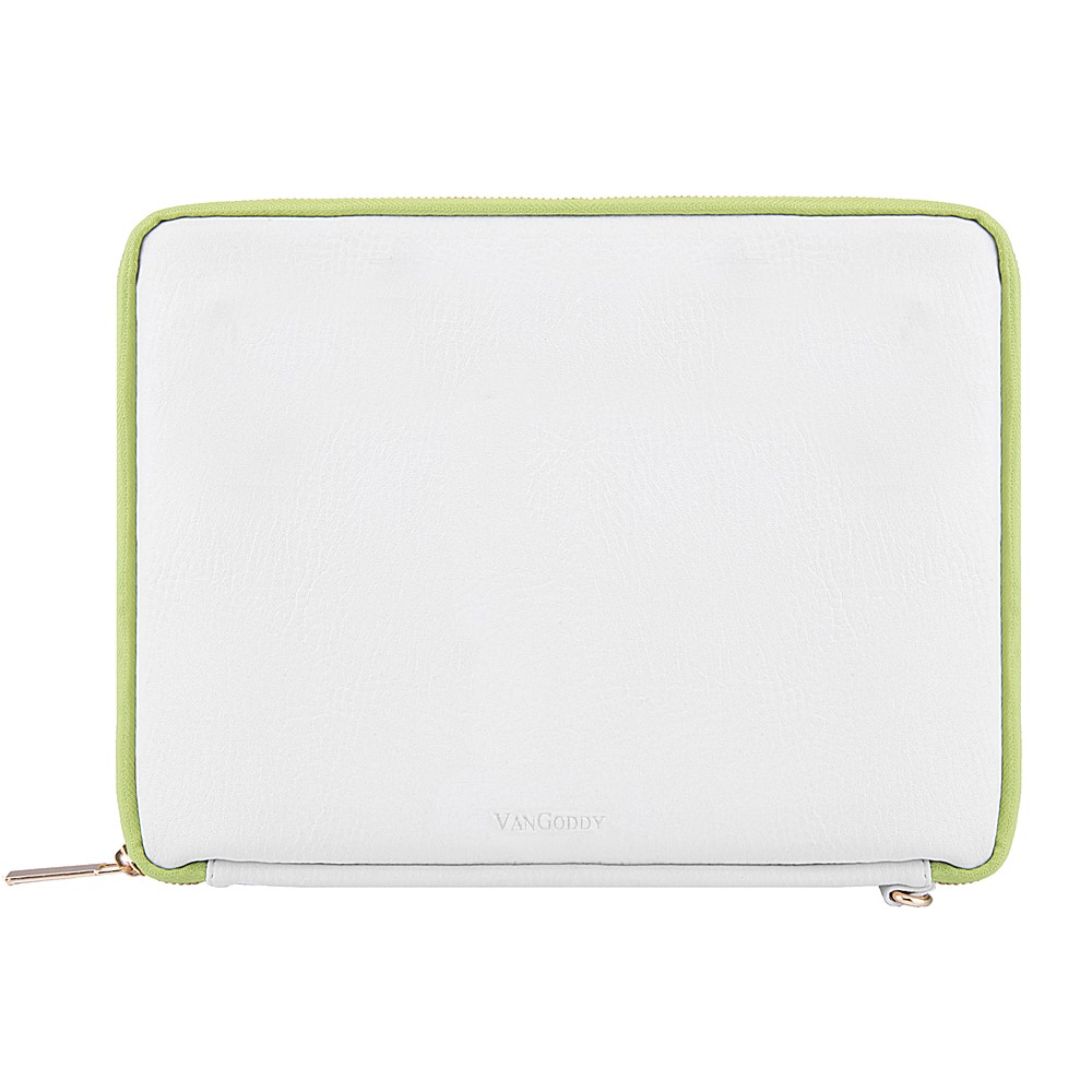 "Irista 7"" Tablet Sleeve (White/Lawn Green)"