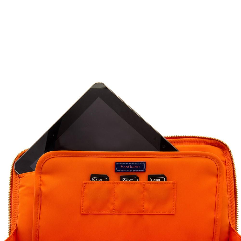 "Irista 10"" Tablet Sleeve (Midnight Blue/Orange)"