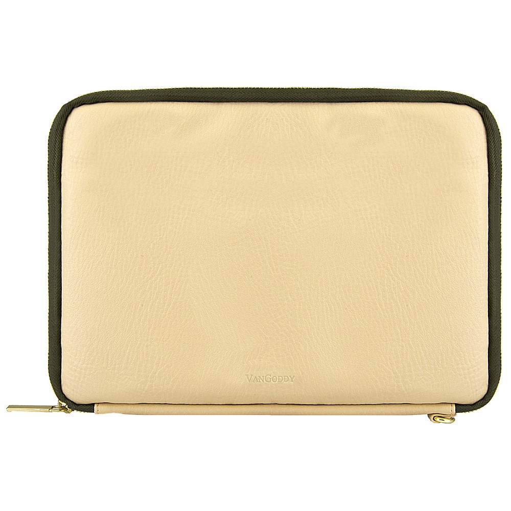 "Irista 10"" Tablet Sleeve (Tan/Olive Green)"