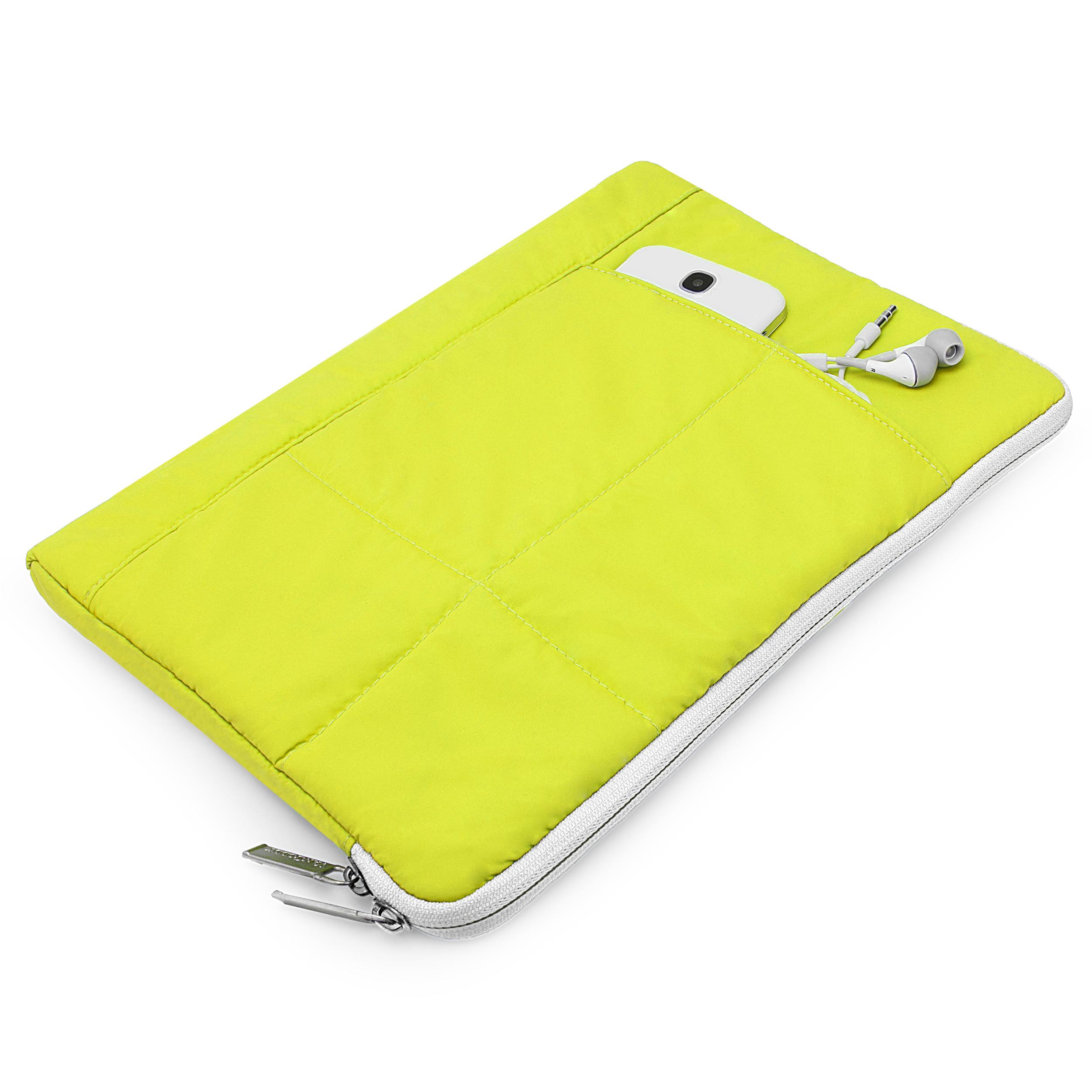 "Pillow Case 10"" (Lime/White)"