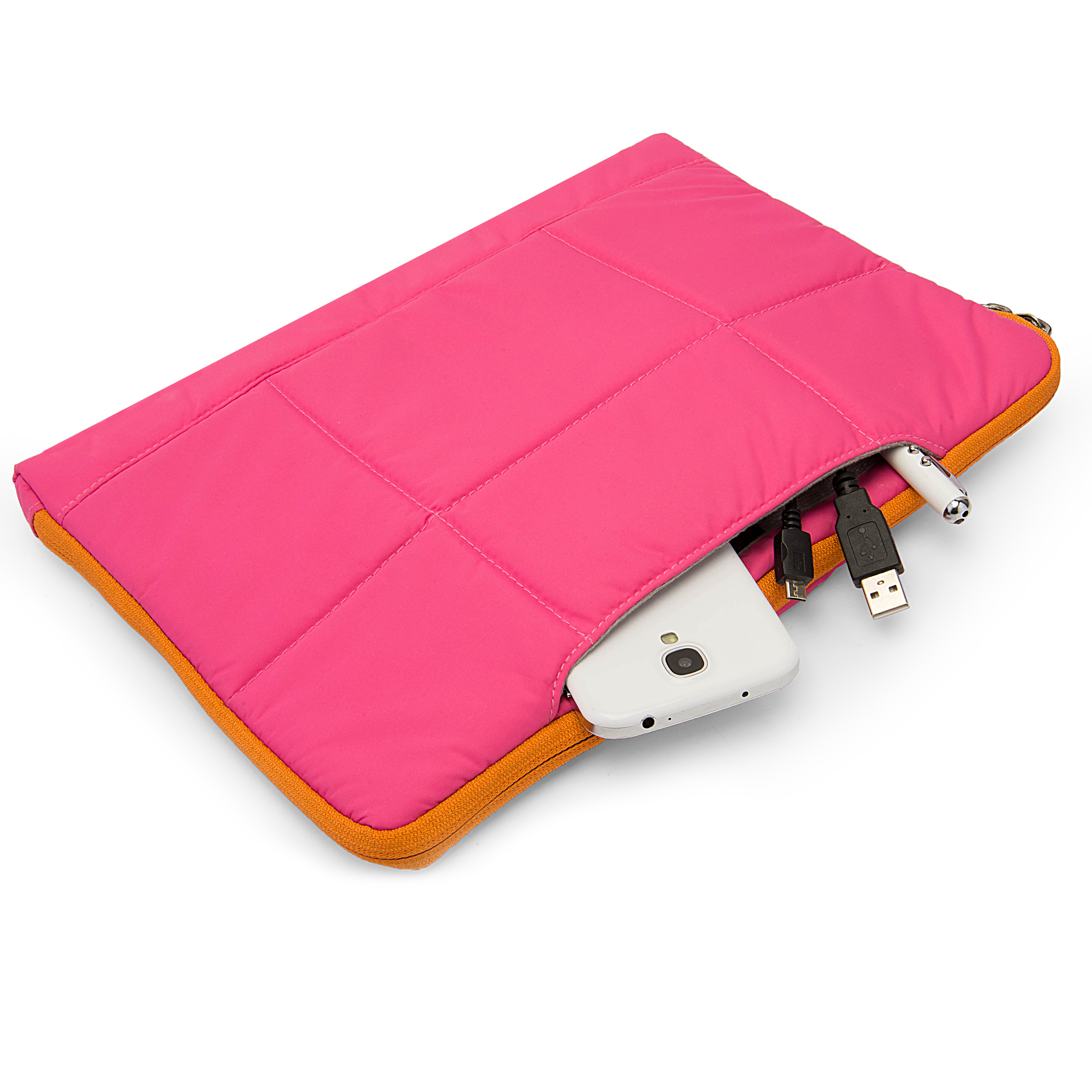 "Pillow Case 10"" (Pink/Orange)"