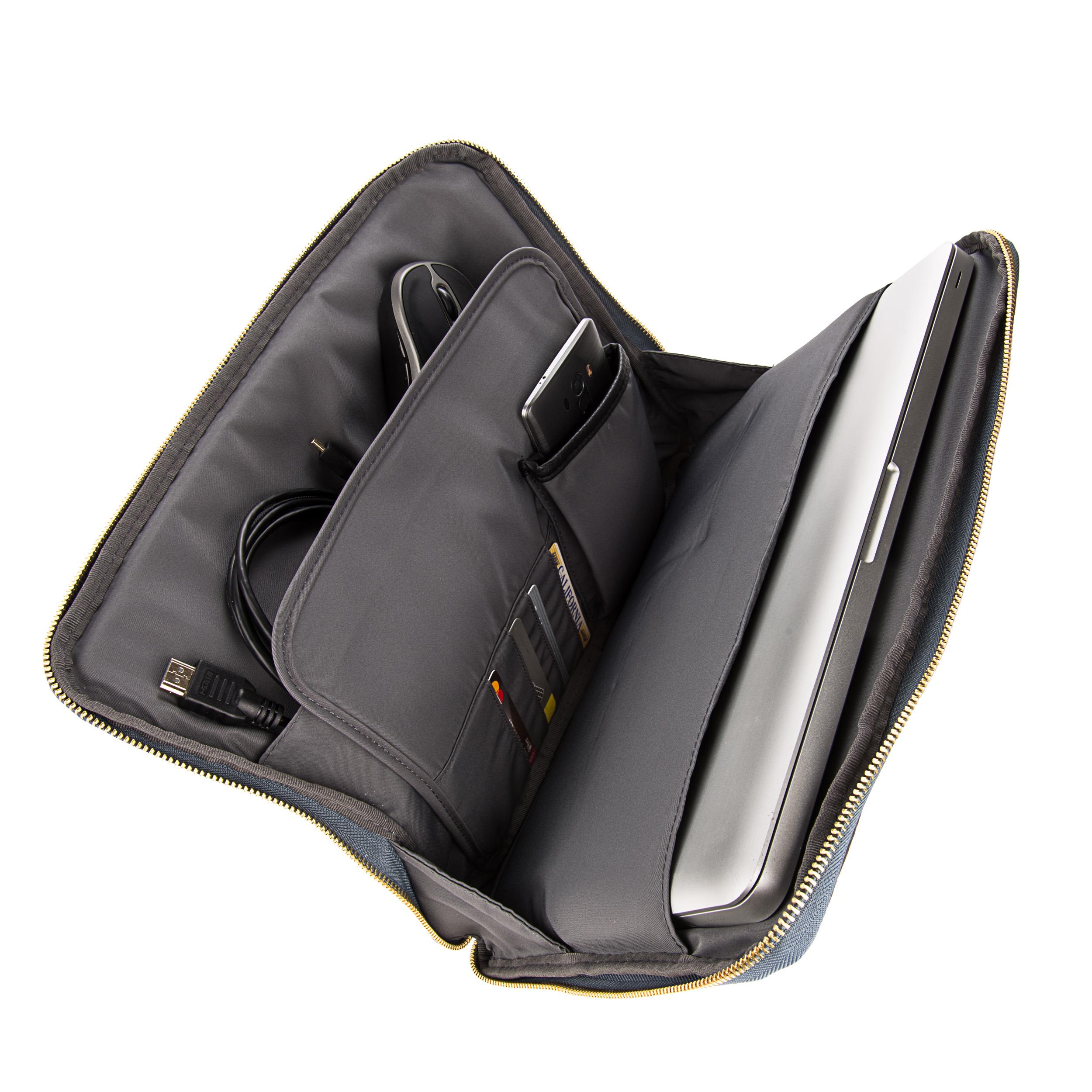 """Irista 15"""" Laptop Sleeve (Black/Dark Slate)"""