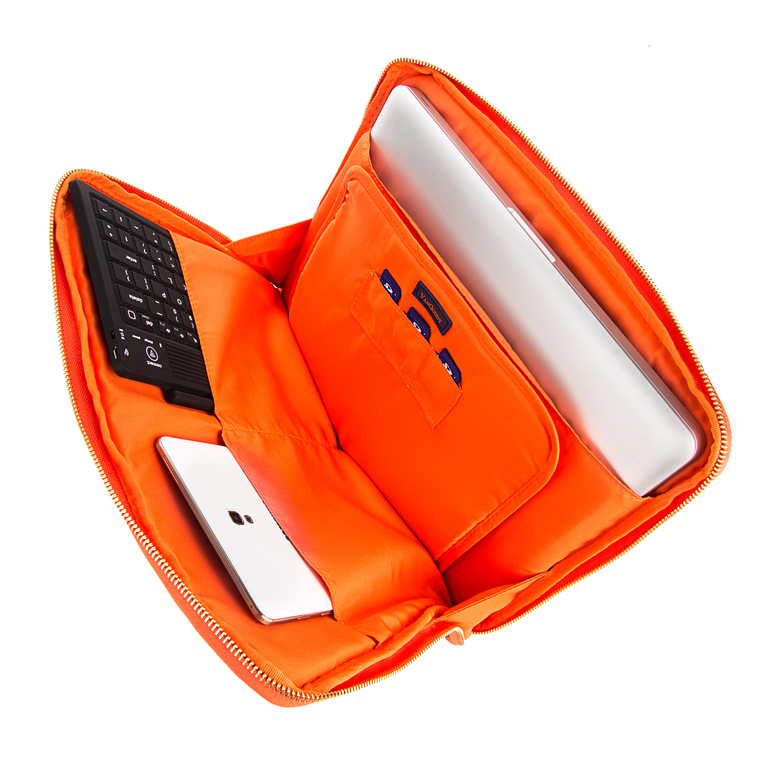 "Irista 13"" Tablet Sleeve (Midnight Blue/Orange)"