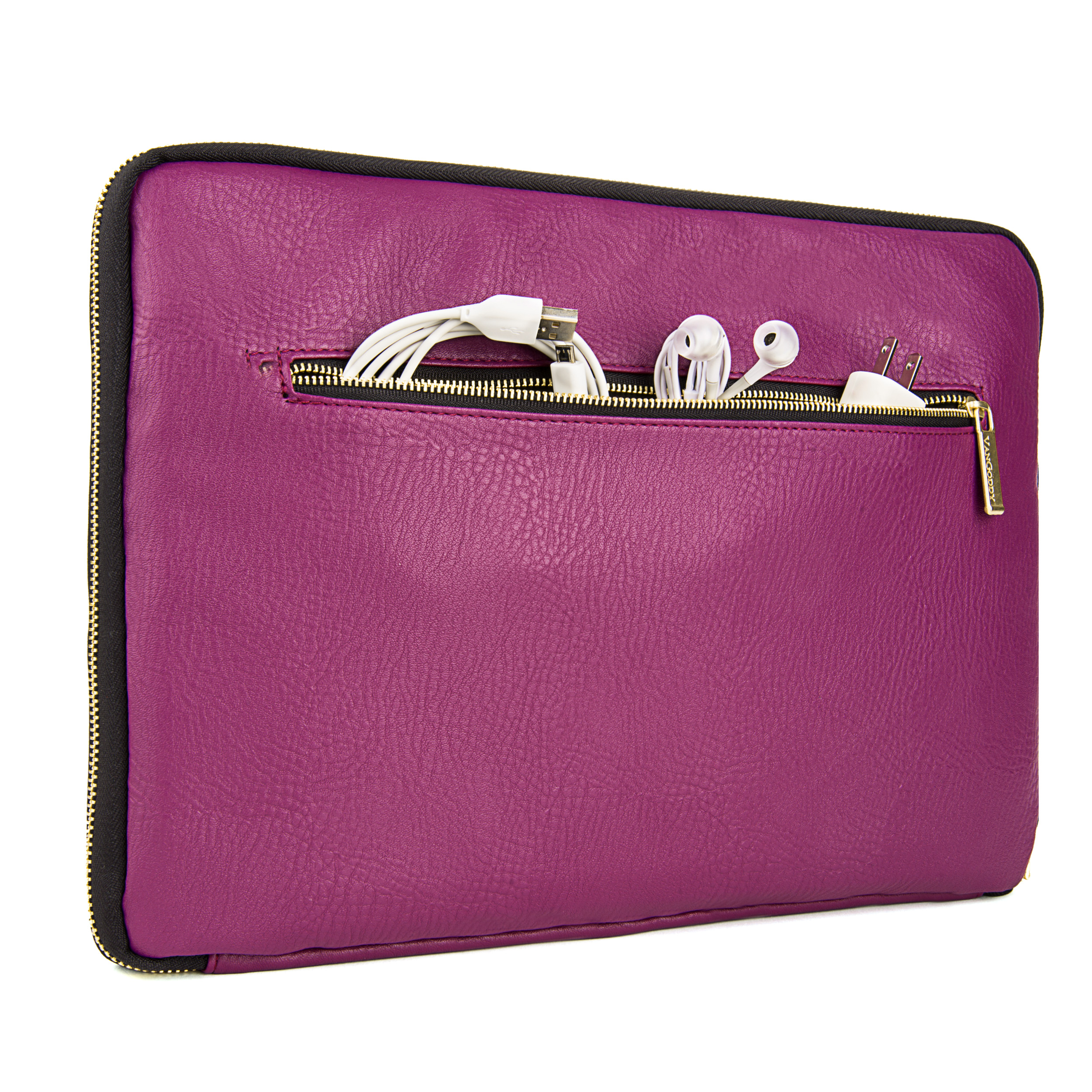 "Irista 15"" Laptop Sleeve  (Purple/Black)"