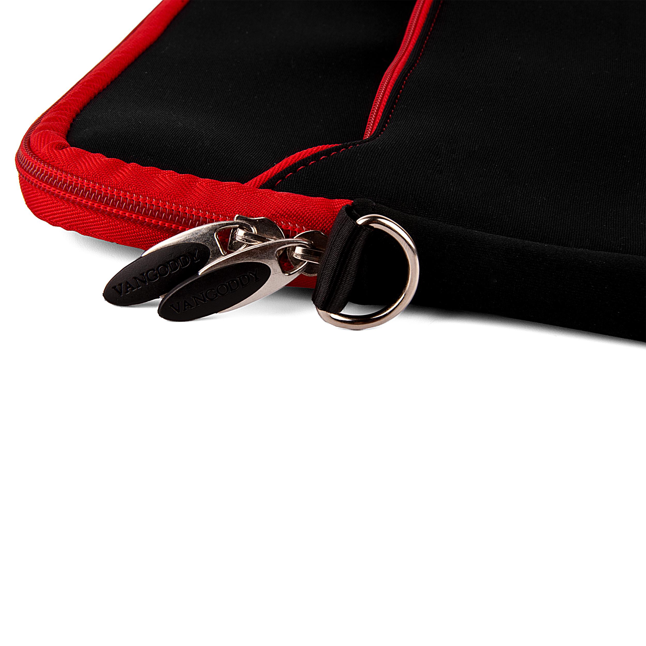 "Neoprene Sleeve 10"" (Black/Red Trim)"
