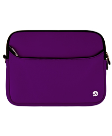 "Neoprene Sleeve 10"" (Purple/Black Trim)"